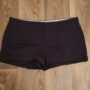 JCP cotton shorts in navy blue